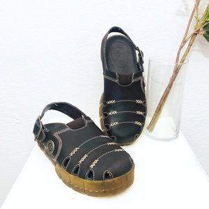 Dr. Marten's Breckin fisherman leather sandals